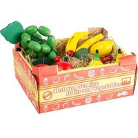 Owoce w skrzyneczce mix - 11 sztuk - zabawka dla dzieci marki Small foot design