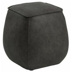 Szara pufa siedzisko tapicerowane - Arktos 4X, SCM451262