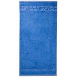 4home Jahu ręcznik kąpielowy bambus hanoi niebieski, 70 x 140 cm