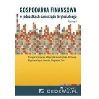 Gospodarka finansowa w jednostkach samorządu....