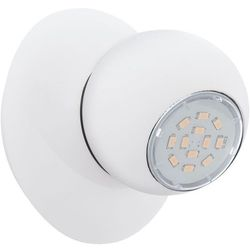 Kinkiet LED (Ciepła barwa światła) NORBELLO 3 1X5W GU10 93167 Biały EGLO, 93167