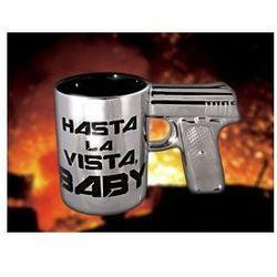 Kubek pistolet Hasta La Vista Baby z kategorii Upominki