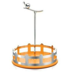 A di alessi Koszyk na przyprawy alui pomarańczowy (8003299968190)