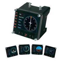 Panel kontrolny do symulatora lotów Saitek Pro Flight Instrument Panel PZ46, czarny (5099206069824)