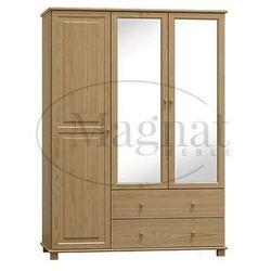 Szafa sosnowa 3d nr6 s120 marki Magnat - producent mebli drewnianych i materacy