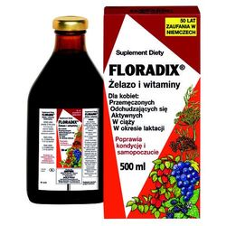 FLORADIX Żelazo i witaminy płyn - 500 ml (płyn)