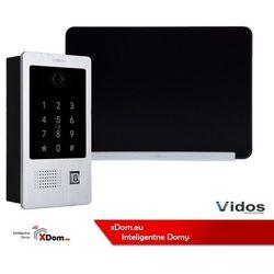Zestaw wideodomofonu stacja bramowa z czytnikiem i szyfratorem monitor 7'' s20da_m690bs2 marki Vidos