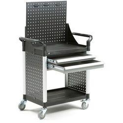 Wózek narzędziowy MOVE, 2 szuflady, panel narzędziowy, 850x480x1345 mm, 27025