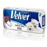 Velvet Papier toaletowy  xxl biały 8 rolek