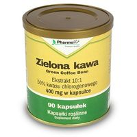 Zielona Kawa 400mg 90 kapsułek Pharmovit