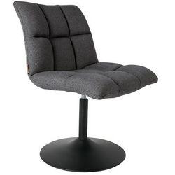krzesło obrotowe mini bar ciemnoszare 1100259 marki Dutchbone