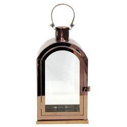 Latarnia metalowa Copper 27,5 cm (5901272729987)