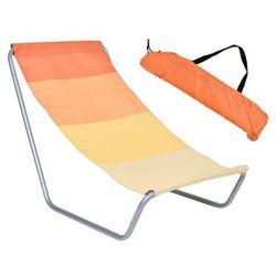 Leżak plażowy LANO pomarańczowy