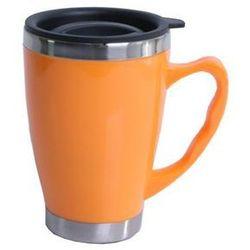 Termos kubek nierdzewny modern pomarańcz 0,45 l - Pomarańczowy \ 0,45l