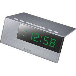 Sencor zegar cyfrowy z budzikiem sdc 4600 gn (8590669229604)
