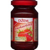 Dżem Truskawkowy Słodzony Fruktozą 190g - Radix