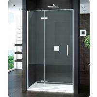 SanSwiss Pur drzwi prysznicowe ze ścianką stałą w linii PU13PG0901007
