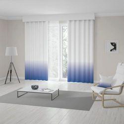 Zasłona okienna na wymiar - NAVY BLUE - KOLOR 100 CM
