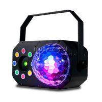American DJ Stinger Star efekt świetlny LED DMX 3 w 1 - moonflower, laser, colorstrobo 6 x 3W RGBWAV