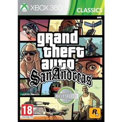 GTA San Andreas, gra Xbox 360