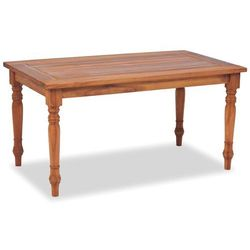 Vidaxl stolik kawowy batavia, drewno tekowe, 90 x 50 45 cm (8718475570509)