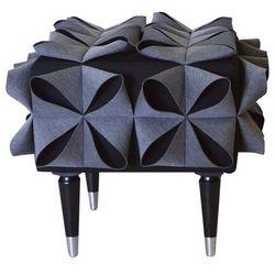 Happy barok Pufa origami grey / black by hapy barok