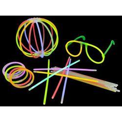 vidaXL 1000 części Kolorowe, neonowe pałeczki +złączki (8718475868095)