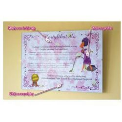 Certyfikat przyszłej żony - wersja ekonomiczna - produkt z kategorii- Upominki