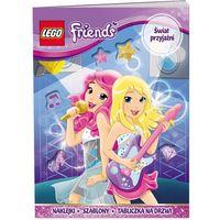 LEGO FRIENDS ŚWIAT PRZYJAŹNI LIR-101 + zakładka do książki GRATIS (9788325320225)