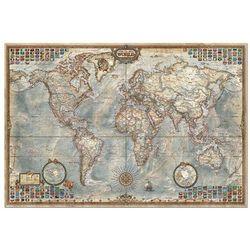 Puzzle 1500 Świat mapa stylizowana polityczna - produkt z kategorii- mapy