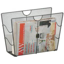 Metalowy gazetnik, kosz na gazety, ZELLER (4003368177427)
