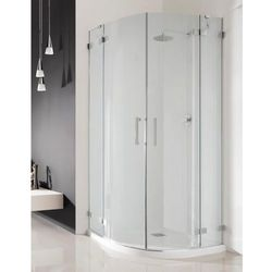Radaway Radaway euphoria pdd kabina prysznicowa 90x90 szkło przejrzyste + brodzik delos a + syfon 383001-01l/383001-01r/sda0909-01 __autoryzowany_dystrybutor__ 90 x 90 (383001-01L)