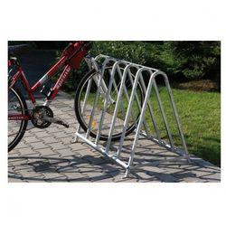 Dwustronny stojak na rowery, dla 5 rowerów od producenta B2b partner