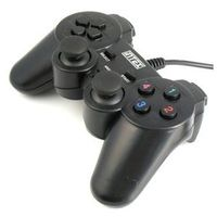 Gamepad PC IT-GP02B DualShock black Intex (armepol) z kategorii Gamepady
