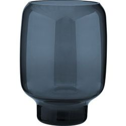 Hoop wazon szklany L, granatowy - Stelton, 622