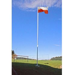 Flagmaster ® Maszt flagowy 6,5 m aluminiowy maszt do flagi (30050125)