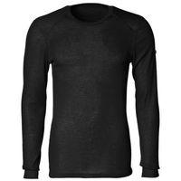 Odlo  warm bielizna górna mężczyźni czarny xl koszulki bazowe z długim rękawem (7612860861139)