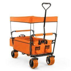 the orange supreme wózek domowy wózek ręczny składany 68 kg dach przeciwsłoneczny marki Waldbeck