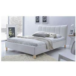 Producent: elior Łóżko tapicerowane sandis - białe