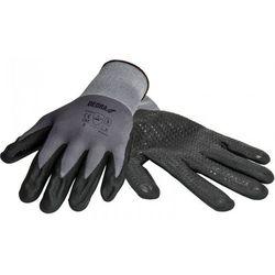 Rękawice robocze bh1006r09 czarno-szary (rozmiar l) marki Dedra
