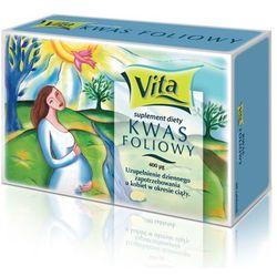 KWAS FOLIOWY TABL.0.4MG*30/AFLOFARM/ - tabletki suplementy ciążowe