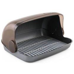 Chlebak kuchenny plastikowy srebrny marki Smart kitchen