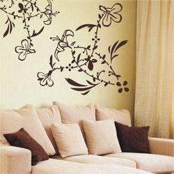 Wally - piękno dekoracji Szablon malarski kwiaty 016