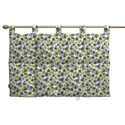 Dekoria  wezgłowie na szelkach, niebiesko-zielone kwiatuszki na jasnym tle, 90 x 67 cm, wyprzedaż do -30%