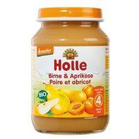 4 mc deser gruszka i morela bezglutenowy bio 190 g -  marki Holle