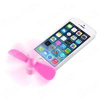 f10 wiatraczek wentylator lightning do iphone ipad różowy - różowy od producenta Remax