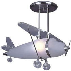 K-mx118-1a lampa wisząca dziecięca samolot 60w e27 marki Kaja