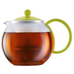 - zaparzacz do herbaty assam, limonkowy - 1.00 l - limonkowy marki Bodum