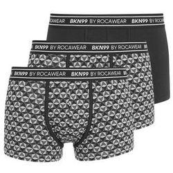 Brooklyn's Own by Rocawear 3 PACK Panty white/grey/black, rozmiar od L do XXL, biały