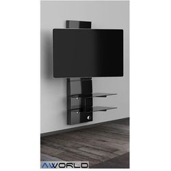 Półka pod TV z maskownicą GHOST DESIGN 3000 z rotacją - sprawdź w AV World
